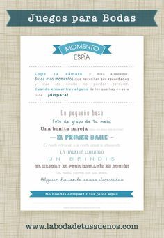 Juegos para bodas, ideas alternativas al baile nupcial, ideas originales para…