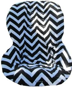 Minky Chevron Car Seat Cover