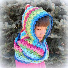 Free Crochet Harlequin Hoodie Pattern