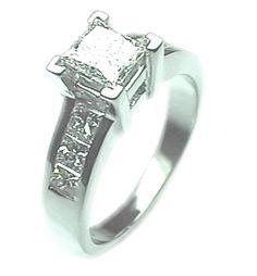Wedding Ring Princess Cut