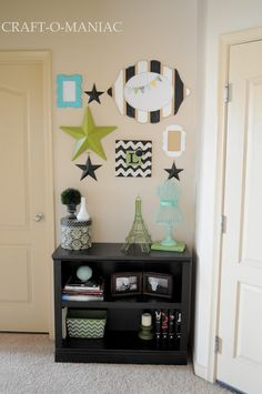 Gallery Frame and Star Wall #home decor #gallery wall #frames