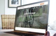 Strona oraz sklep dla producenta designerskich rowerów projektu Sławka Romanowskiego - muzyka zespołu Varius Manx.