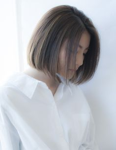 ☆大人な艶髪ストレートボブ☆(HS194) | ヘアカタログ・髪型・ヘアスタイル|AFLOAT(アフロート)表参道・銀座・名古屋の美容室・美容院