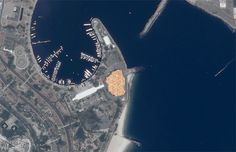 GIF-iti artist INSA has created the world's largest GIF artwork that can be viewed from space.