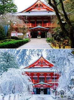 Особенно в зимнее время эта святыня передает настроение и дух этих мест.
