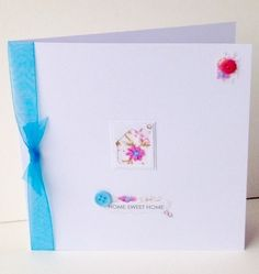 Greeting Card,New Home,Handmade Can Be Personalised £1.95