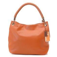 Michael Kors Skorpios Large Shoulder Bag Tangerine Leather