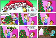 Garfield & Friends | The Garfield Daily Comic Strip for December 13th, 1998