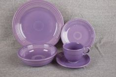 Fiesta - Lilac ~~ I got a cream/sugar set for Christmas from my daughter. It's so pretty!