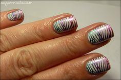Sweet Sugar: Rainbow Stamping with Kiko Mirrors
