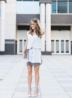 Dreamy designer dress from @marshalls | #fabfound