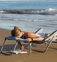 Our exclusive Breezy Beach Sun Lounger keeps you cool and comfortable.