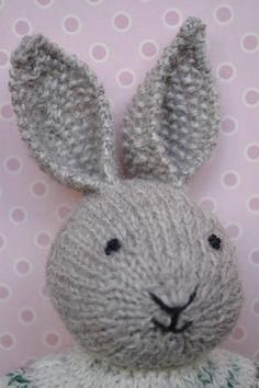 Bunny-boy Soft Bunny Toy Bunny Doll Bunny Toy Knit