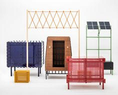 François Chambard, the creative mind behind UM Project, designed an innovative line of interconnected furniture called Patch that turns into a microgrid that can distribute enough solar energy to power a micro apartment.