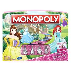 It's the Fast-Dealing Property Trading Game featuring Disney Princess! In this edition of the Monopoly game each player chooses to play as an adventurous Disney Princess character. Then they build up...