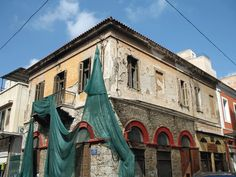 Building in Euripides Street in Athens