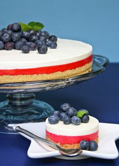 Sprinkle Bakes: White Chocolate No-Bake Cheesecake