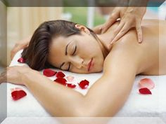 massage ~ Warm Rock Back massage  , massage therapy #massage #massage