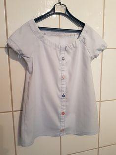 Babykjole av skjorte #redesign
