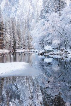 Snow at Yosemite (California) by Seungho Yoo / 500px