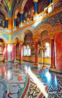 Throne Hall ~ Neuschwanstein Castle, Bavaria, Germany