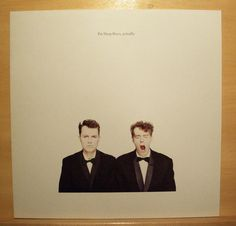 PET SHOP BOYS Actually - near mint - It´s a Sin What have i done to deserve this