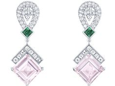 Louis Vuitton - collection Acte V - Hologramme -earrings