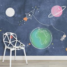 kids-space-rockets-nursery-square-wall-mural