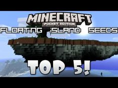 [0.7.6] Top 5 FLOATING ISLAND SEEDS For Minecraft Pocket Edition! - YouTube