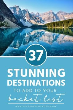 Offbeat bucket list destinations, including many unique and unheard of locations. If you're looking for some wanderlust inspiration, check out this awesome list of 37 of the best bucket list spots, and start planning some brand new adventures! Travel List, Travel Advice, Travel Guides, Travel Europe, Travel Rewards, Florida Travel, Travel Info, Travel Goals, European Travel
