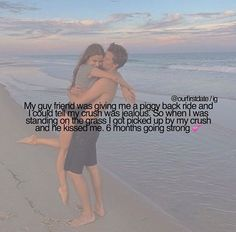 """My guy best friend has threatened my crush who didn't know I liked him and my crush came and kissed me and said """"I would never hurt you"""" it was on the first day of school Source by Cute Couple Quotes, Love Quotes For Her, Cute Couple Stories, Cute Love Stories, Cute Quotes, Love Story, Smile Quotes, Funny Quotes, Relationship Goals Text"""