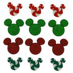 Jesse James Buttons  Dress It Up  DISNEY HOLIDAY CANDIES  Mouse Ears Christmas #JesseJames
