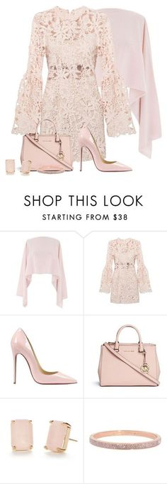 LACE DRESS by arjanadesign ❤ liked on Polyvore featuring Henri Bendel, Christian Louboutin, Michael Kors, Kate Spade, womens clothing, womens fashion, women, female, woman and misses