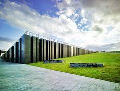 Giants Causeway Visitor centre antrim museum north ireland plans architecture - Buscar con Google