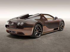 BUGATTI Legend 'Rembrandt Bugatti' Veyron Grand Sport Vitesse | 1,184 horsepower, 1,106 pound-feet of torque, top speed limited 233 mph, 0-62 mph in 2.6 seconds, and a price of $2.99 million.