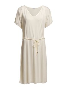 Filippa K - Drapey Summer Dress Shop Now, Short Sleeve Dresses, Summer Dresses, How To Wear, Shopping, Clothes, Awesome, Style, Fashion