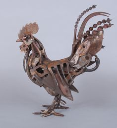 bantam-cockerel by Harriet Mead