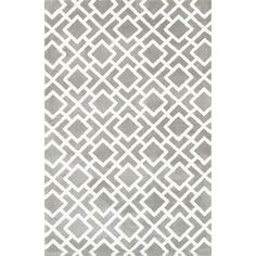 Microfiber Woven Harlow Ash Rug (2'3 x 3'9) - Overstock™ Shopping - Great Deals on Alexander Home Accent Rugs