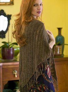 6 Free Shawl Knitting Patterns