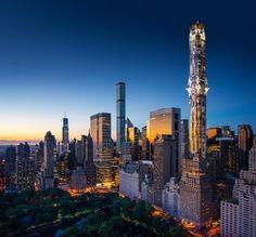 El rascacielos de Mark Foster Gage en Manhattan lleva la arquitectura gótica a nuevas alturas,© Mark Foster Gage Architects