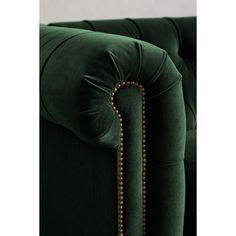 Anthropologie Velvet Lyre Chesterfield Right Sectional, Wilcox ($3,898) ❤ liked on Polyvore featuring home, furniture, sofas, chesterfield sectional, velvet couch, oversized sofa, velvet sofa and chesterfield style sofa