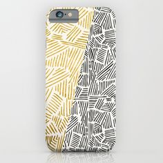 day, night, black and white, gold, linear art, aztec, tribal, chic