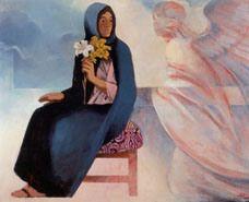 The Annunciation,  vatbardit