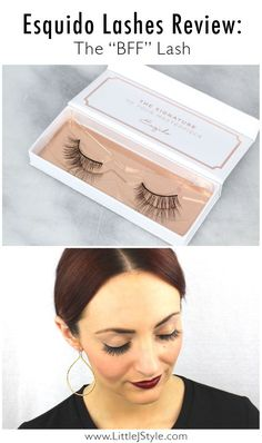 Esqido Mink Lashes Review, The 'BFF' Lashes Long Lashes, False Eyelashes, Esqido Lashes, Falsies, Eyelash Extensions, Mink, Bff, Beauty Makeup, Skin Care