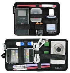 ThinkGeek :: Grid-It Ultimate Organizer...used for carry-on, toiletry bag, camping....