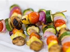 Al Roker makes kabobs three ways, made with just a few ingredients and thrown on the grill.