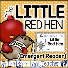 The Barefoot Teacher: Fairy Tale Emergent Readers, FREEBIE & More!