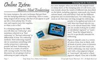 "VSN ""Heat Embossing"" FREE mini eArticle (pdf, epub or Kindle versions)"