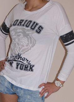 Kup mój przedmiot na #vintedpl http://www.vinted.pl/damska-odziez/bluzy/3037736-bluza-college-hm