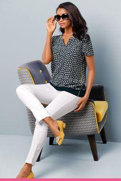 White Jeans, Pants, Women, Fashion, Trouser Pants, Moda, Women's, Fashion Styles, Women Pants